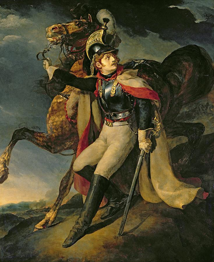 """""""The Wounded Cuirassier,"""" 1814"""