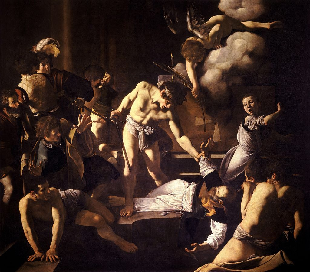 """The Martyrdom Of Saint Matthew,"" 1599-1600"