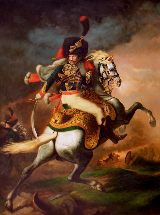 """The Charging Chasseur,"" 1812"