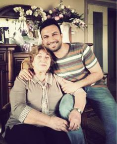 Tarkan with his mother, 2013