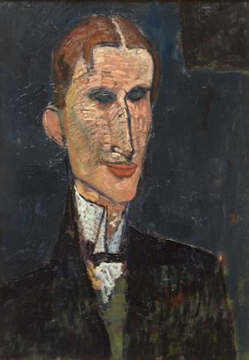 Portrait of Viking Eggeling, by Amedeo Modigliani, 1916