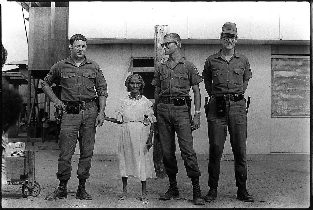 """American Soldiers and the Queen of the Negritos,"" 1968"