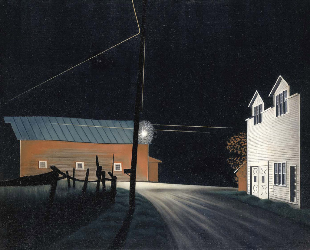 """Bright Light at Russell's Corners,"" 1946"