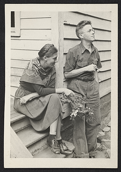 George and Louise Ault, c. 1940
