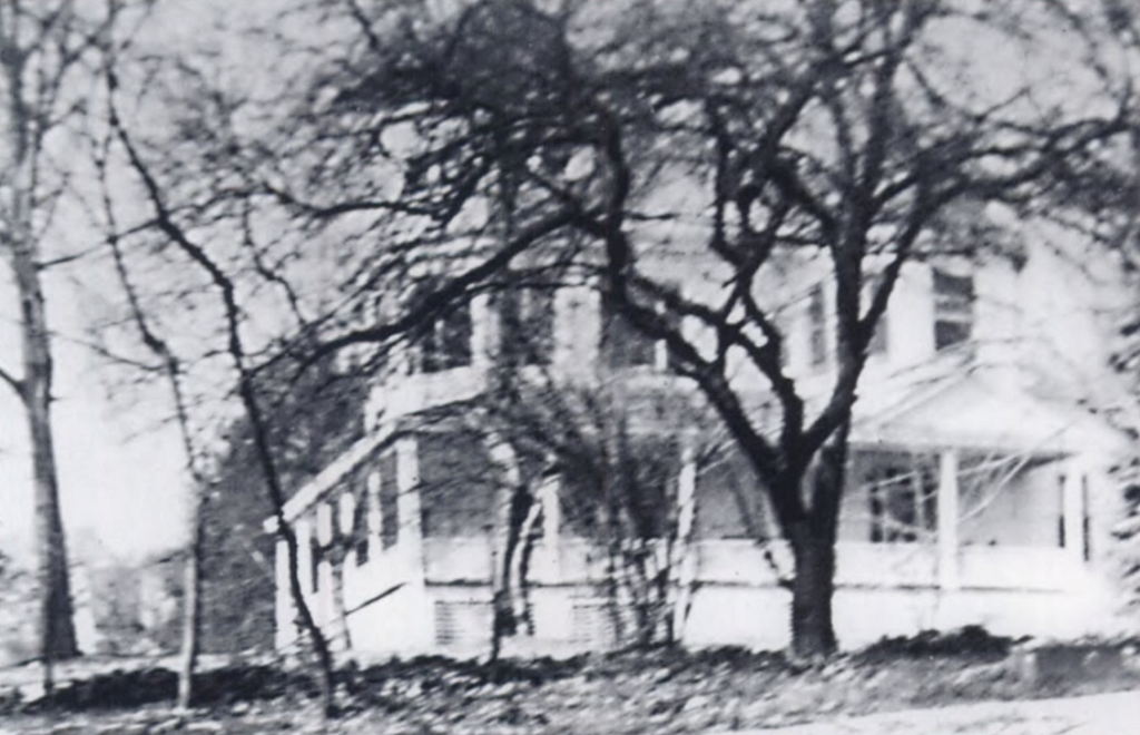 Mary Fuller's childhood home on Dorset Avenue, Bethesda, MD