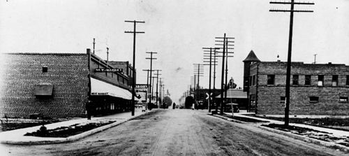 The Watts district of Los Angeles, c. 1912