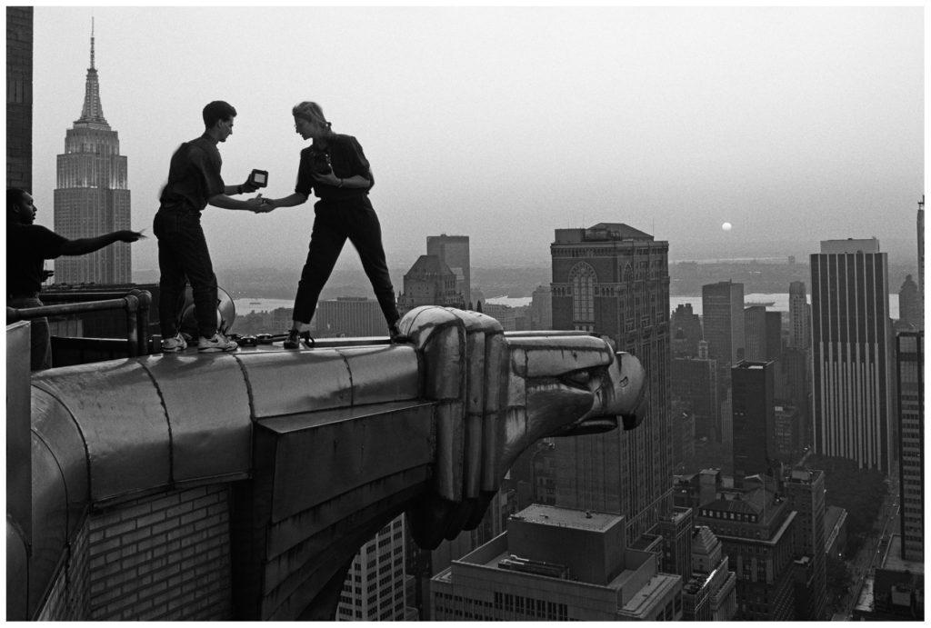 Annie Leibovitz by John Loengard