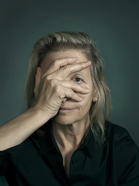 Portrait of Annie Leibovitz by John Keatley