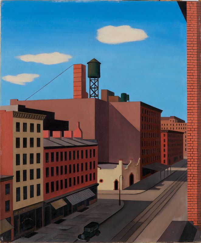 """Hudson Street,"" 1932"