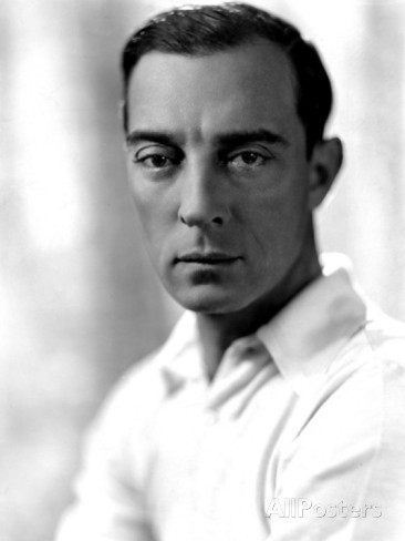 Publicity photo of Buster Keaton, by George Hurrell, 1930