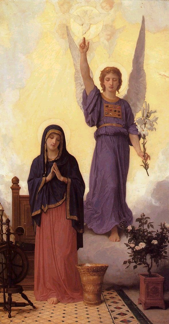 """Annunciation,"" 1888"