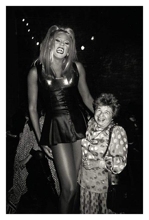RuPaul with Dr. Ruth, 1994