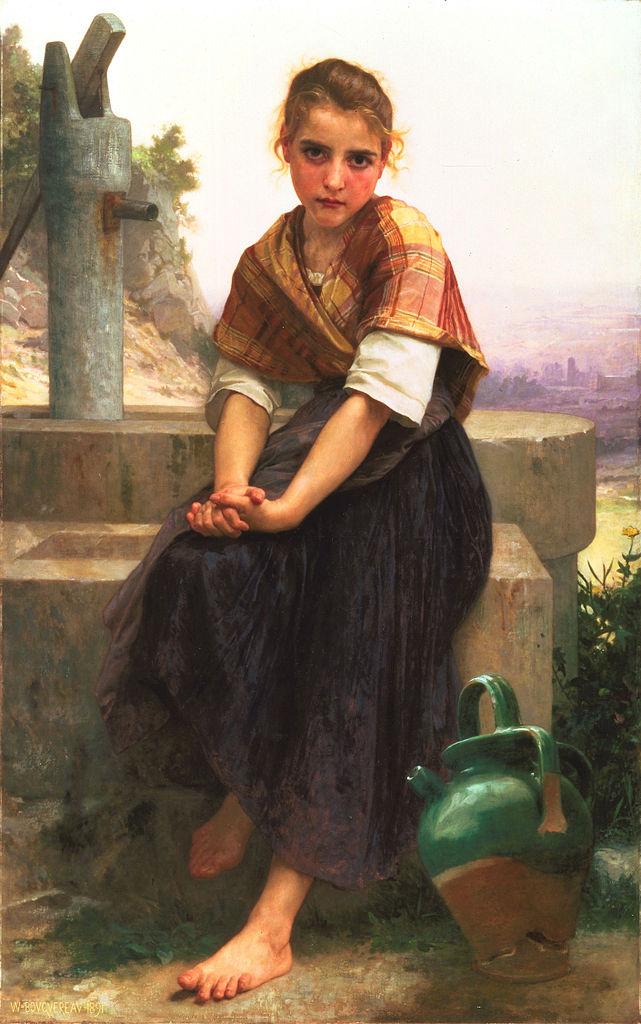 """""""The Broken Pitcher,"""" 1891"""