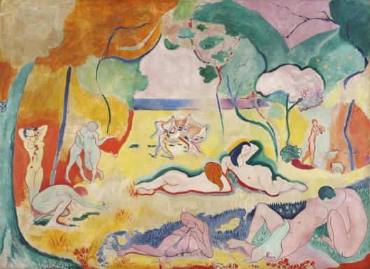 "The copy of Matisse's ""The Joy Of Life"" at the Barnes Foundation in Philadelphia, Pennsylvania, has been steadily losing its vibrancy due to the chemistry of the paints the artist used."
