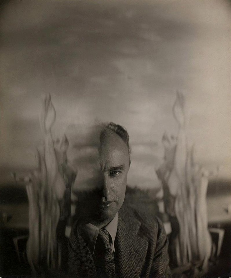 Portrait of Yves Tanguy by George Platt Lynes, New York, 1940