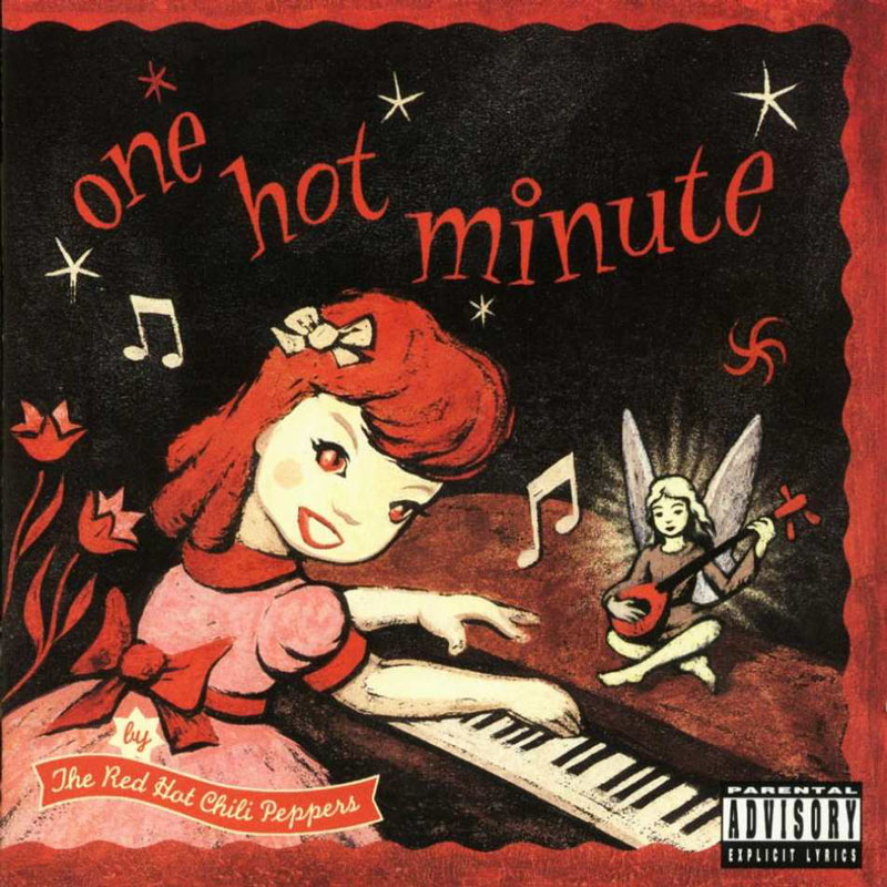 "Artwork for The Red Hot Chili Peppers' ""One Hot Minute"""