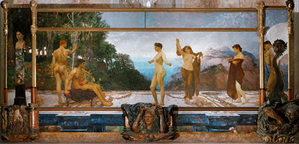 """The Judgement of Paris,"" 1886-87"