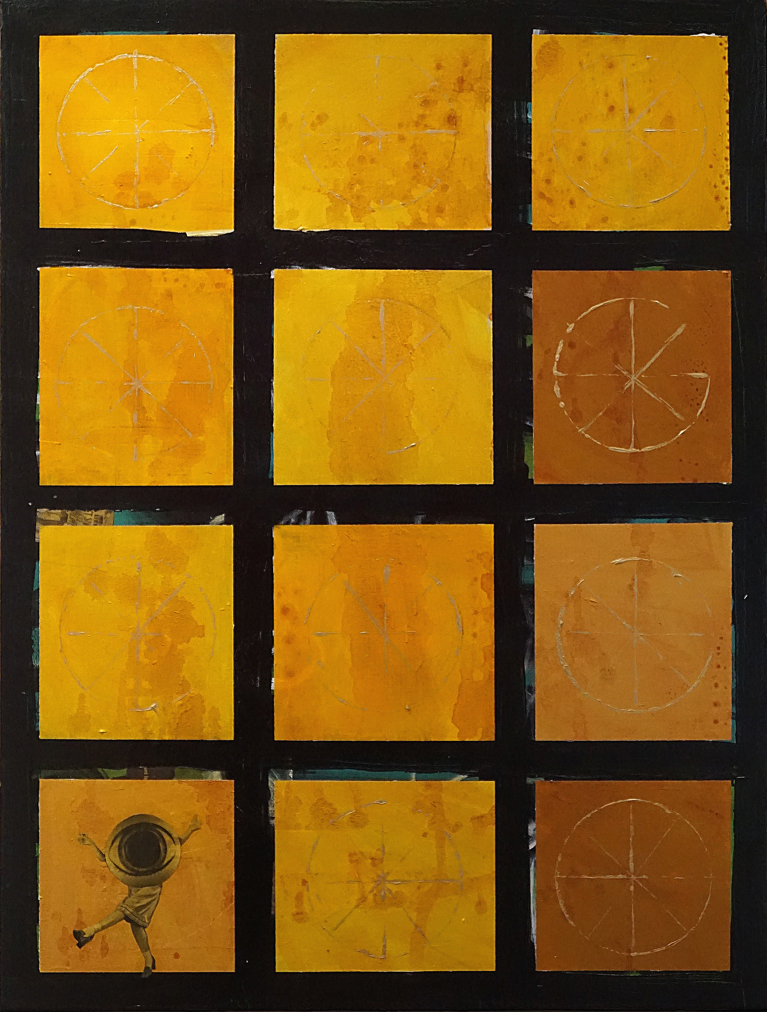 """""""Making Peace With Yellow,"""" 2016 by Terri Maxfield Lipp"""